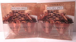 2 bx Bath & Body Works Wallflower Diffuser Refill Bulb  Kitchen Spice - $29.99
