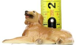 Hagen Renaker Miniature Dog Golden Retriever Lying Ceramic Figurine image 2