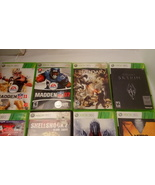 Lot of Xbox 360 Games And Kinect - $25.00