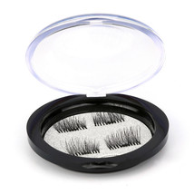 Eyelashes box Makeup Organizer Magnetic False Eyelashes Magnet Ttone Box... - $4.09