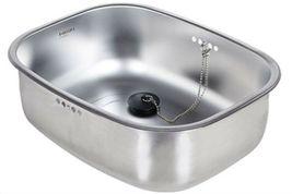 Hanssem Stainless Steel Basin Dishpan Washing Bowl Sink Basket Kitchen Multipurp image 4