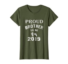 Brother Shirts - Funny Proud Brother to Be 2019 Parents Gift T-Shirt Wowen - $19.95