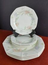 6pc vintage Fitz Floyd dinner salad bread dessert plates Florence dinner... - $23.70