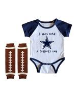 Dallas  Cowboys Onesie Uniform Jersey Born A Fan - $21.95+