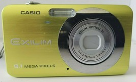 Casio EXILIM ZOOM EX-Z8A  8.1MP Digital Camera - Green Tested Fast Free Shipping - $39.59