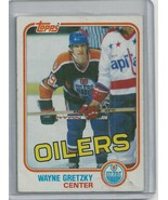 WAYNE GRETZKY   TOPPS 1981  HOCKEY CARD #16  - $6.14