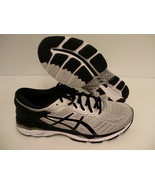 Asics men's gel kayano 24 running shoes silver black mid grey size 9 (2E... - $128.65