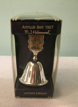 Vintage Hummel Silver Plated Annual Bell 1987 Follow the Leader Limited Ed. - $24.99