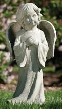 Roman 26IN Graceful Praying Child Angel Wings Outdoor Garden Statue - €137,54 EUR