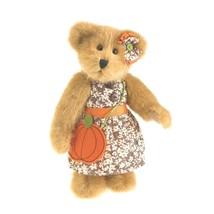 "Boyds Bear ""Prissy Punkinbeary"" 10"" Plush Bear- -#4028319- NWT- 2012 - $39.99"