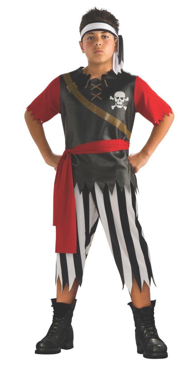 Boys Pirate King Halloween Costume 5-7 Years