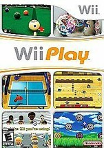 Wii Play Wii Game Adult Owned With Book - $5.50