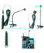 New 57 Instrument Gooseneck Mic Microphone for Shure with XLR 3Pin Phant... - $62.37