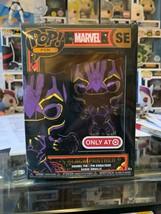 Marvel Funko Pin Black Light Black Panther GITD GLOW Target Exclusive   - $25.00