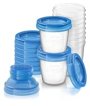 Philips AVENT Breast Milk Storage Cups, 6 Ounce (Pack of 10) - $26.51