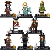 8 pcs Captain Pirates of the Caribbean Series II Minifigure Blocks for L... - $21.55