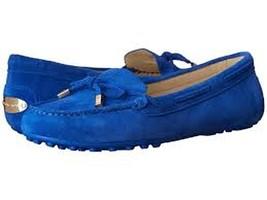 Michael Kors Daisy Moc Electric Blue Shoes Size 6 - $69.99