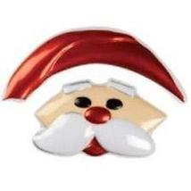 1 Santa Face Topper Cake Party Christmas Decorate Cookie Baking Design - $10.00