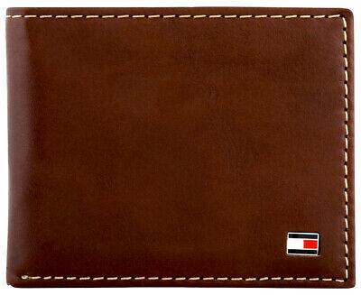 Tommy Hilfiger Men's Logan Bifold Zipper Coin Credit Card ID Wallet 31TL220036