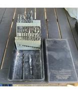 Vintage Sears Craftsman High Speed Drills Bit Set 18 Pieces w/ Storage Case - $25.00