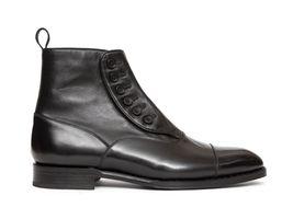 Handmade Men Brown Jodhpurs Boots, Men Ankle Boots, Men Leather Boots - $179.99