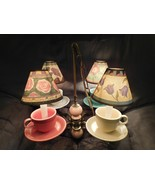 ONE OF A KIND Fiesta Fiestaware Cup Saucer Dining Hanging Lamp Light Ali... - $2,499.99