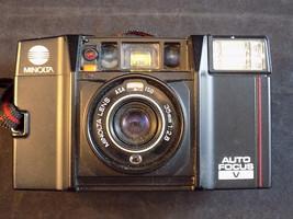 Vintage MINOLTA FLASH CAMERA 35mm Lens AUTO FOCUS AF-S 3101721 Made in J... - $24.74