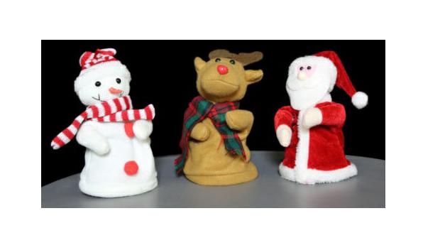 c9ebb85b71bce Singing Dancing 18cm Santa Claus Snowman and 50 similar items
