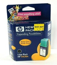 Genuine HP 51626A Large Black Ink Cartridge for DeskJet DesignJet OfficeJet Fax - $9.74