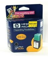 Genuine HP 51626A Large Black Ink Cartridge for DeskJet DesignJet Office... - $9.74