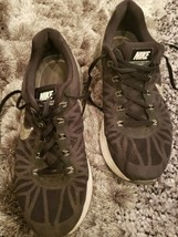 Nike Lunarglide 6 Sneakers Shoes Womens 10 Black 654434-001 Running - $37.39