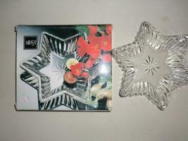 """MIKASA sweet dish """"Diamond Fire"""" NIB - $9.89"""