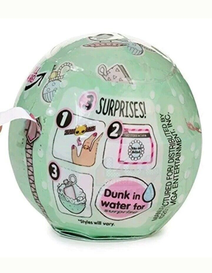 LOL Surprise Ball Charm Fizz Little Outrageous Littles Series 2 NEW - $5.81