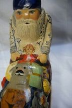 Vaillancourt Dutch Delft Santa on Sleigh Signed by Judi image 4