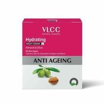 VLCC Hydrating Anti-Ageing Night Cream, 50g - $16.26