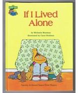 ORIGINAL Vintage 1980 Sesame Street If I Lived Alone Hardcover Book - $14.84