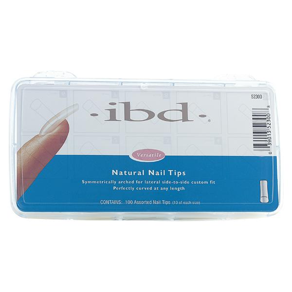 IBD Natural Nail Tips, 100 Count