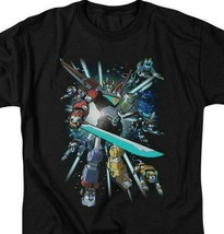 Voltron t-shirt retro 80s animation The Mighty Robot anime graphic tee DRM333 image 2
