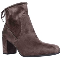 Franco Sarto Pisces Black Lace Ankle Booties, Taupe, 9 US / 39 EU - $38.39