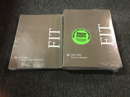 2007 2008 HONDA FIT Service Shop Repair Workshop Manual Set W ETM OEM Us... - $118.75
