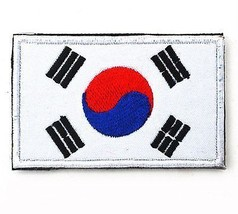 ShowPlus Korea KR Flag Military Embroidered Tactical Velcro Patch Morale Army - $11.26