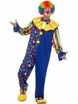 Deluxe Clown Costume, Fancy Dress, Large #CA - $61.81