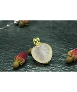 Djinn of love wishes !!! Pendant-Vessel 925 Sterling Silver with 8k gold... - $122.51