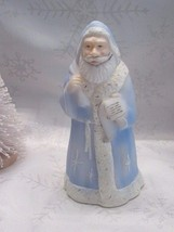 "Fenton Art Glass 2001 ""Morning Star"" Hooded Santa Signed S. Wajda - $88.00"