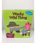 Curiosity Kits Wacky Wild Thing Create Your Own Snuggly Critter Sewing C... - $14.84