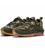 """Nike Women's Air Max 98 Floral """"Camo"""" NEW AUTHENTIC Sequoia AQ6468-300 - $189.99"""