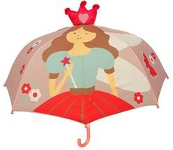 Pop Up Princess Umbrella Character Child Kid Size 36 Inch Size Rain Girl... - $18.99