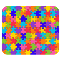 Mouse Pads Jigsaw Puzzles Beautiful Rainbow Design Animation Fantasy Mou... - $6.00