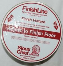 Sioux Chief Finish Line 834-64DNR On Grade Cleanout System 4 Inch image 8