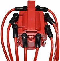 95-97 GM LT1 LT4 Optispark Distributor Cap, Rotor, 8mm Spark Plug Kit image 7